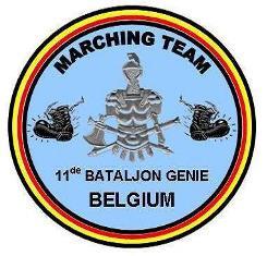 Marching Team 11de Bataljon Genie